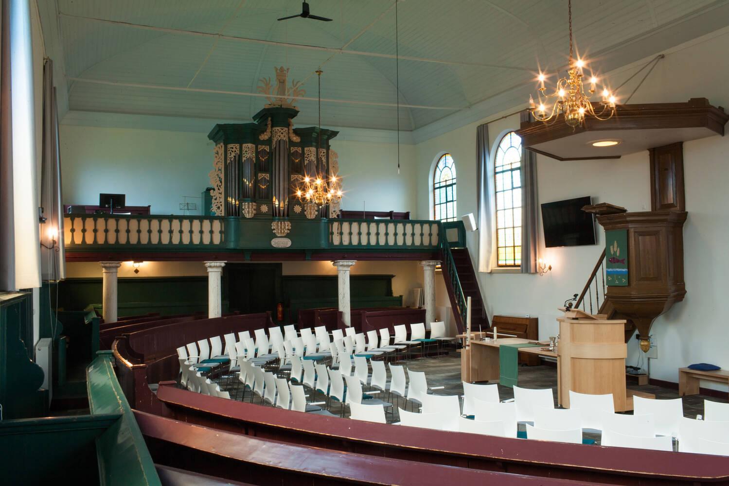 Kerkdienst 11 oktober Bovensmilde.